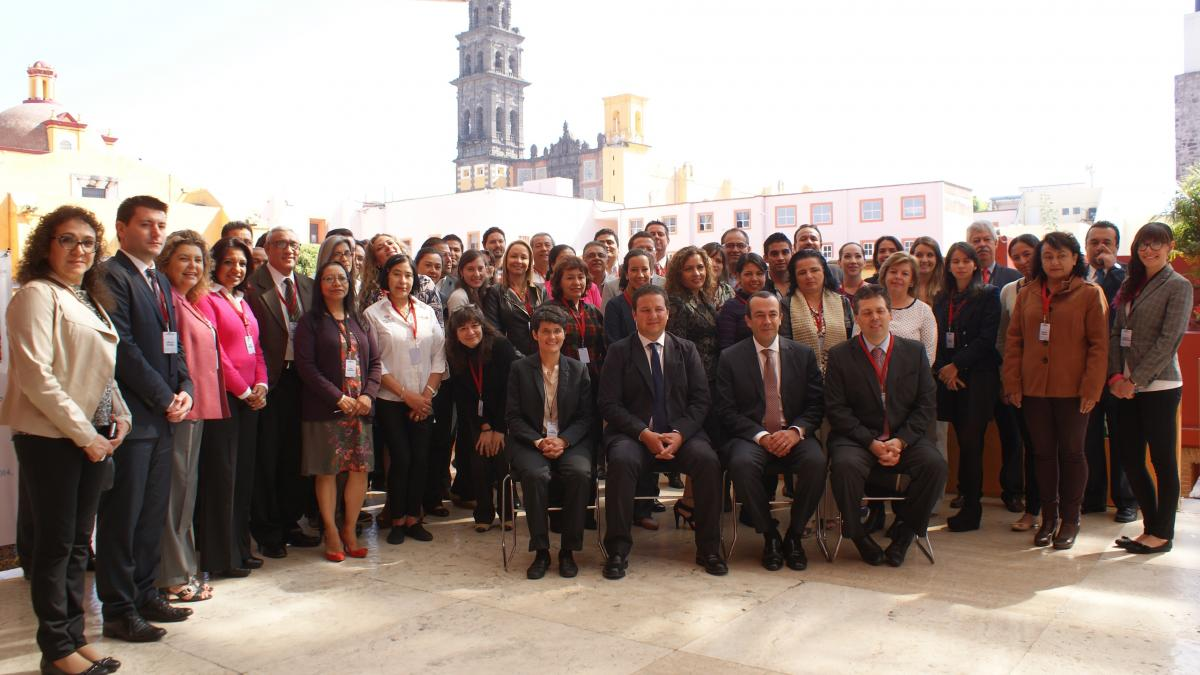 """Inaugurated the UNWTO course in Mexico on """"Tourism competitiveness as a factor for community development"""", from 26th October to 1st November, in Puebla"""