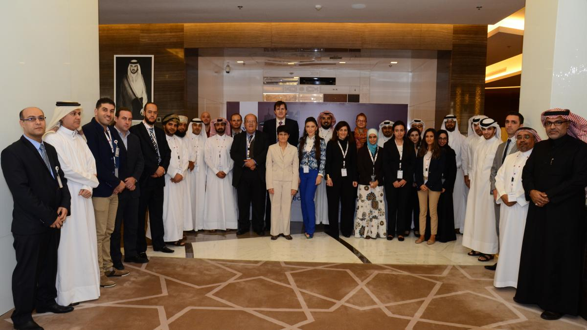 The UNWTO course in Qatar 3rd edition 2014 started on 7th December