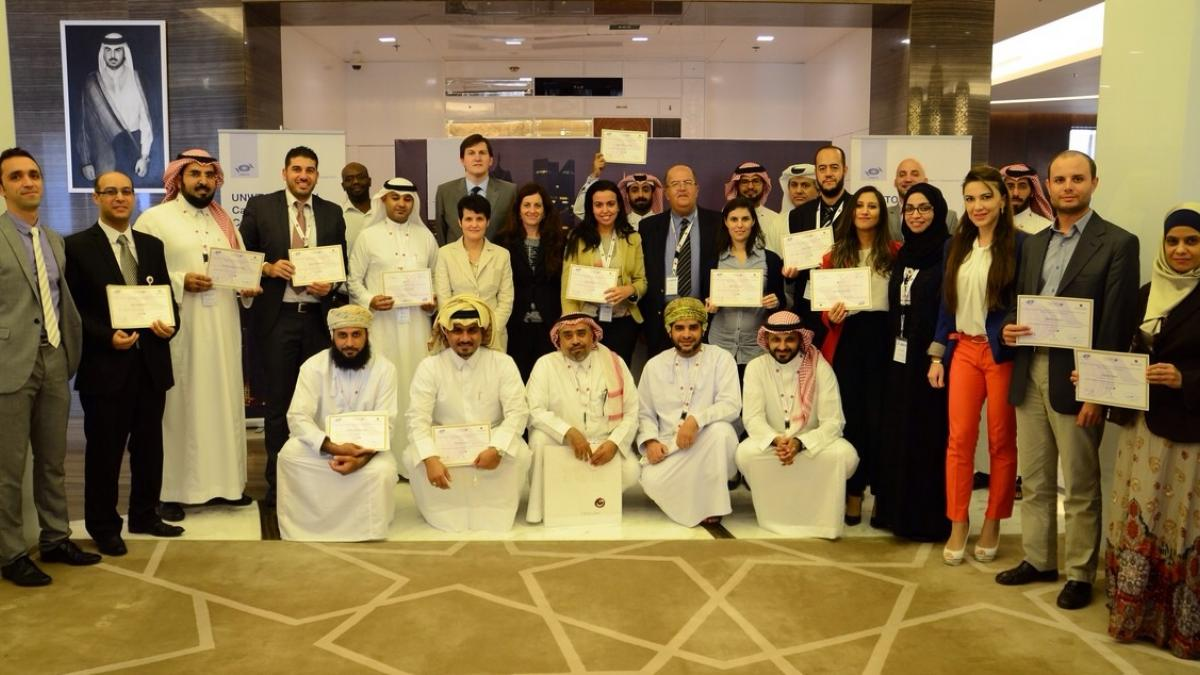 The UNWTO course in Qatar 3rd edition 2014 finished on 11th December