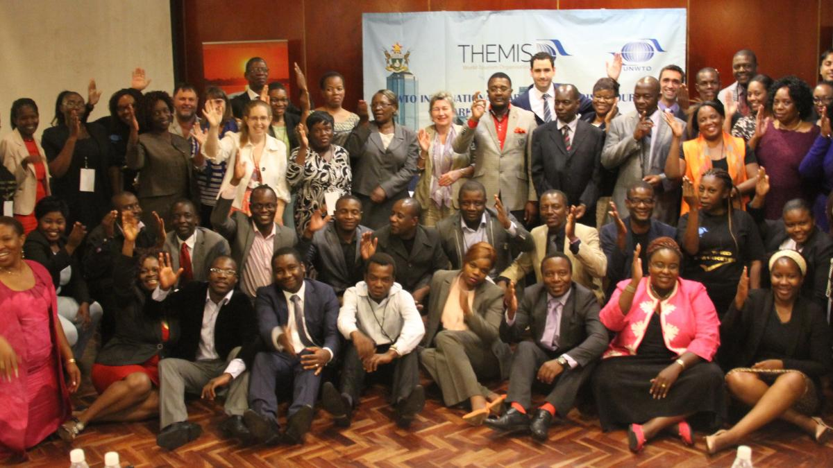 The UNWTO course in Zimbabwe on eMarketing finished on 27th March