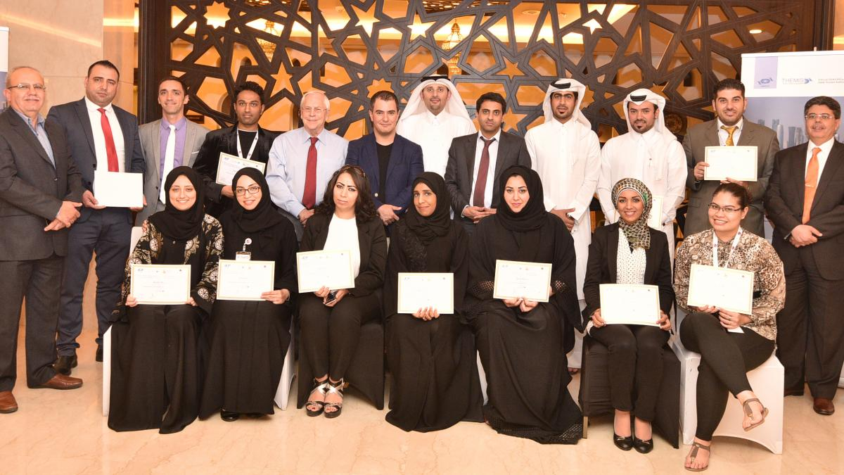 The UNWTO course in Qatar 1st edition 2015 finished on 14th May