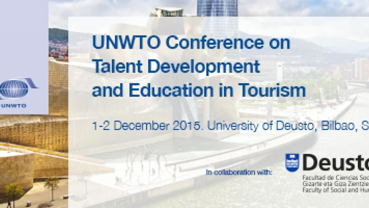 UNWTO Conference on Talent Development and Education in Tourism