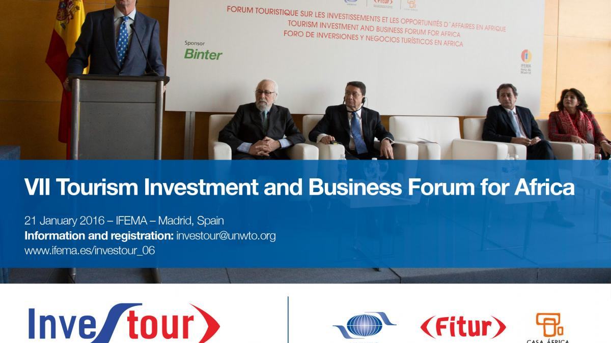 VII Tourism Investment and Business Forum for Africa - INVESTOUR 2016