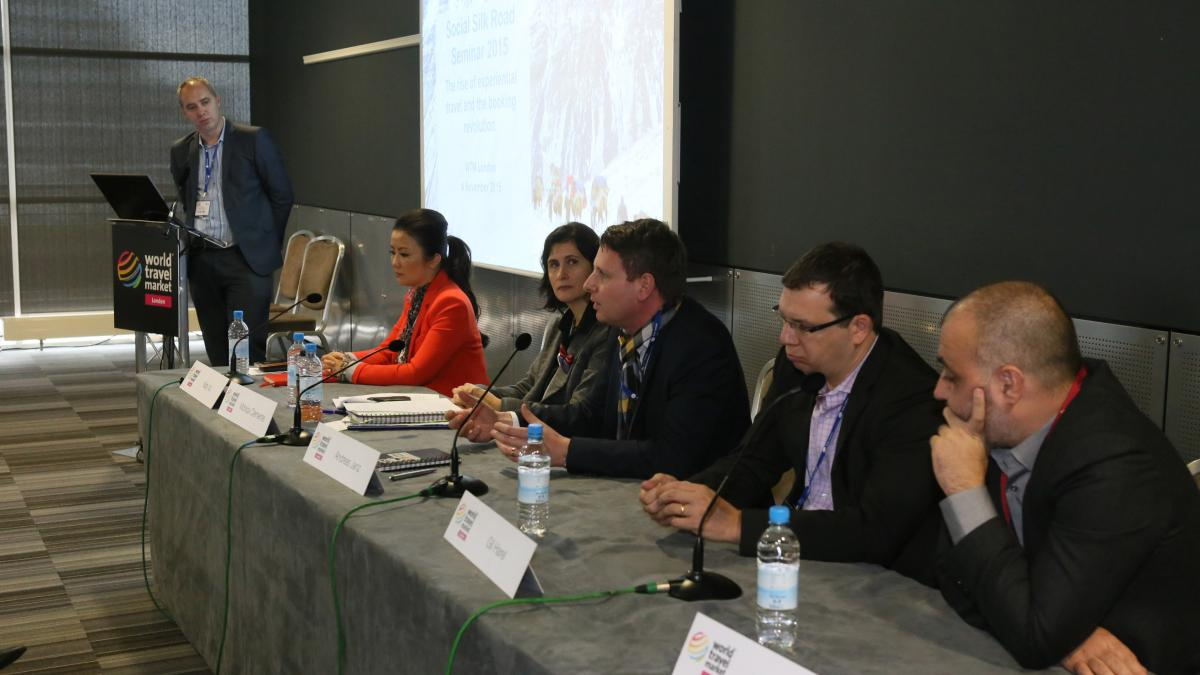 #Social Silk Road Seminar at WTM London 2015: The rise of experiential travel and the booking revolution