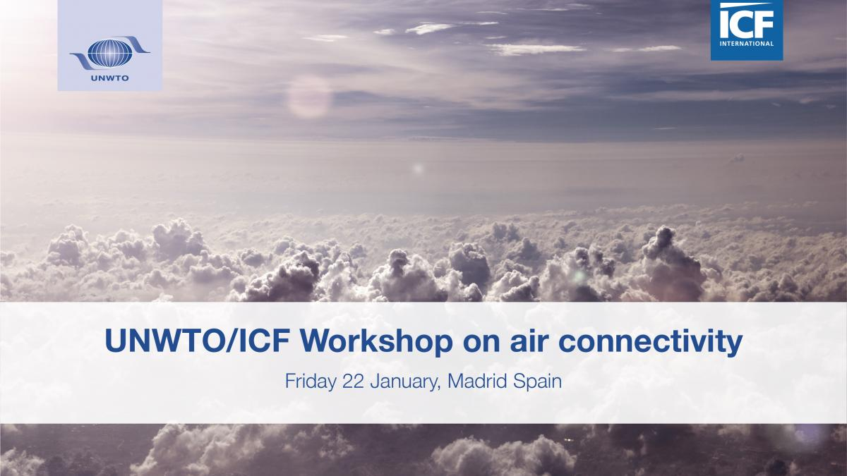 UNWTO/ICF Workshop on air connectivity