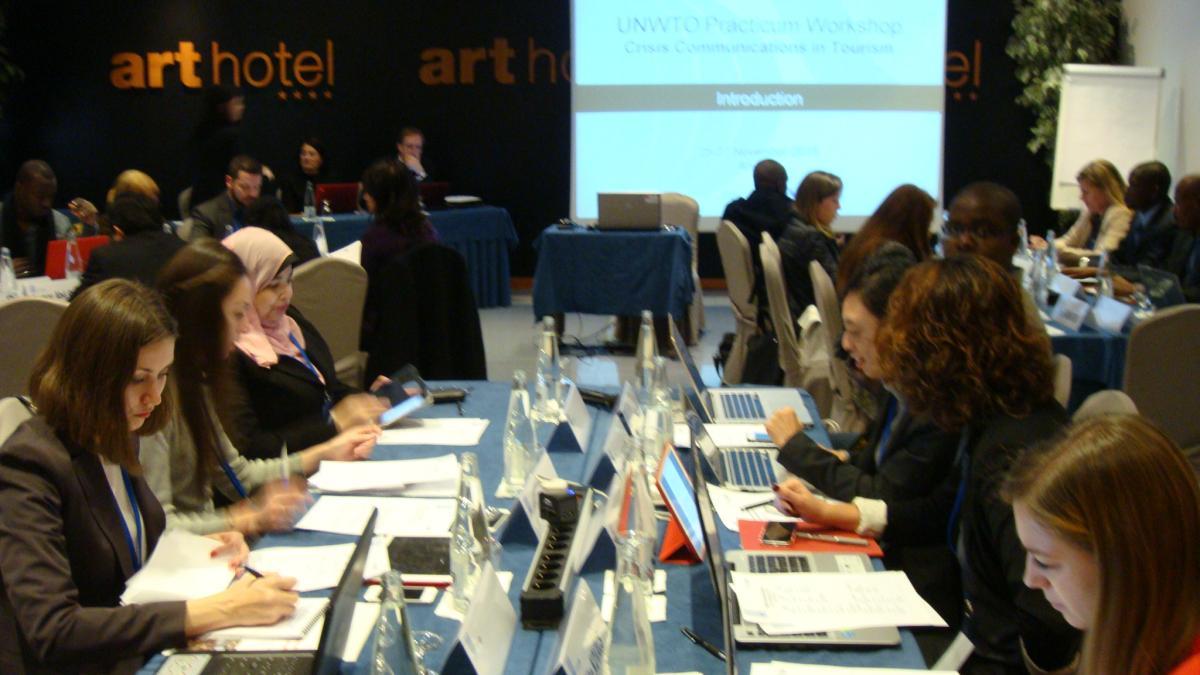UNWTO Practicum workshop inaugurated in Andorra today November 25.