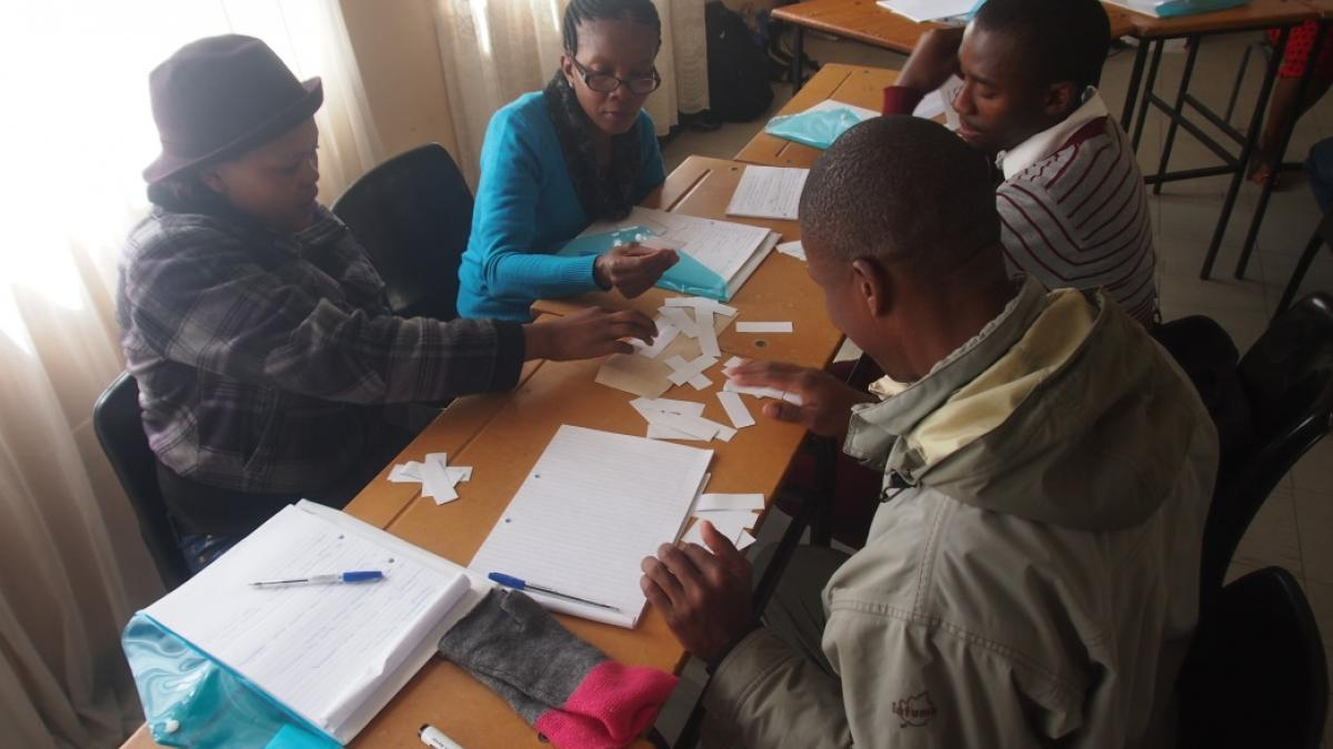 ST-EP project in Lesotho delivers training seminars for excursion providers, tour guides, home stay providers and crafters