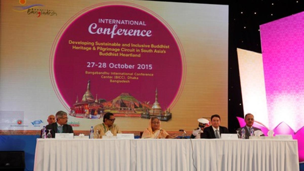 International Conference on Developing Sustainable and Inclusive Buddhist Heritage and Pilgrimage Circuits in South Asia's Buddhist Heartland