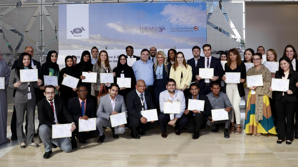 The UNWTO Regional executive workshop in Qatar finished on 15th December