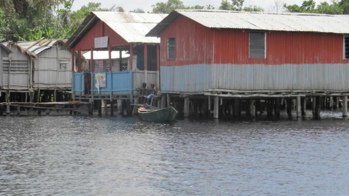 Improving Visitor Facilities and Services in Nzulezu Stilt Village in Ghana