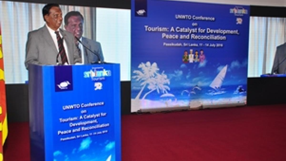 UNWTO Conference on Tourism: a Catalyst for Development, Peace and Reconciliation