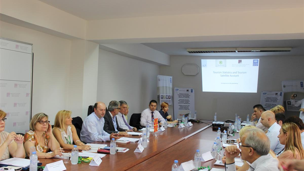 Workshop on Tourism Statistics and Tourism Satellite Account in the Former Yugoslav Republic of Macedonia