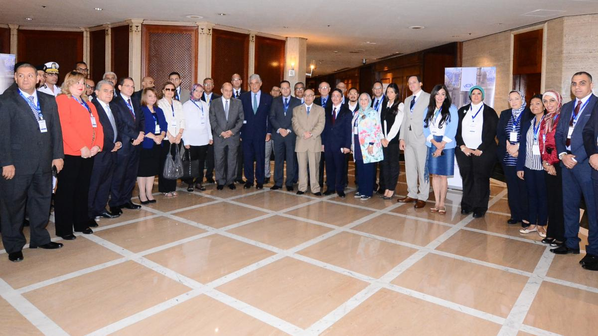 "Inaugurated the UNWTO Executive Training Course in Egypt on ""Crisis Management in Tourism"""
