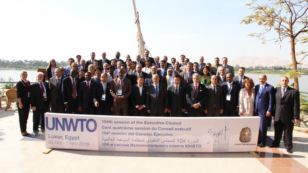 Réunion du Conseil exécutif de l'OMT à Louxor (Égypte)