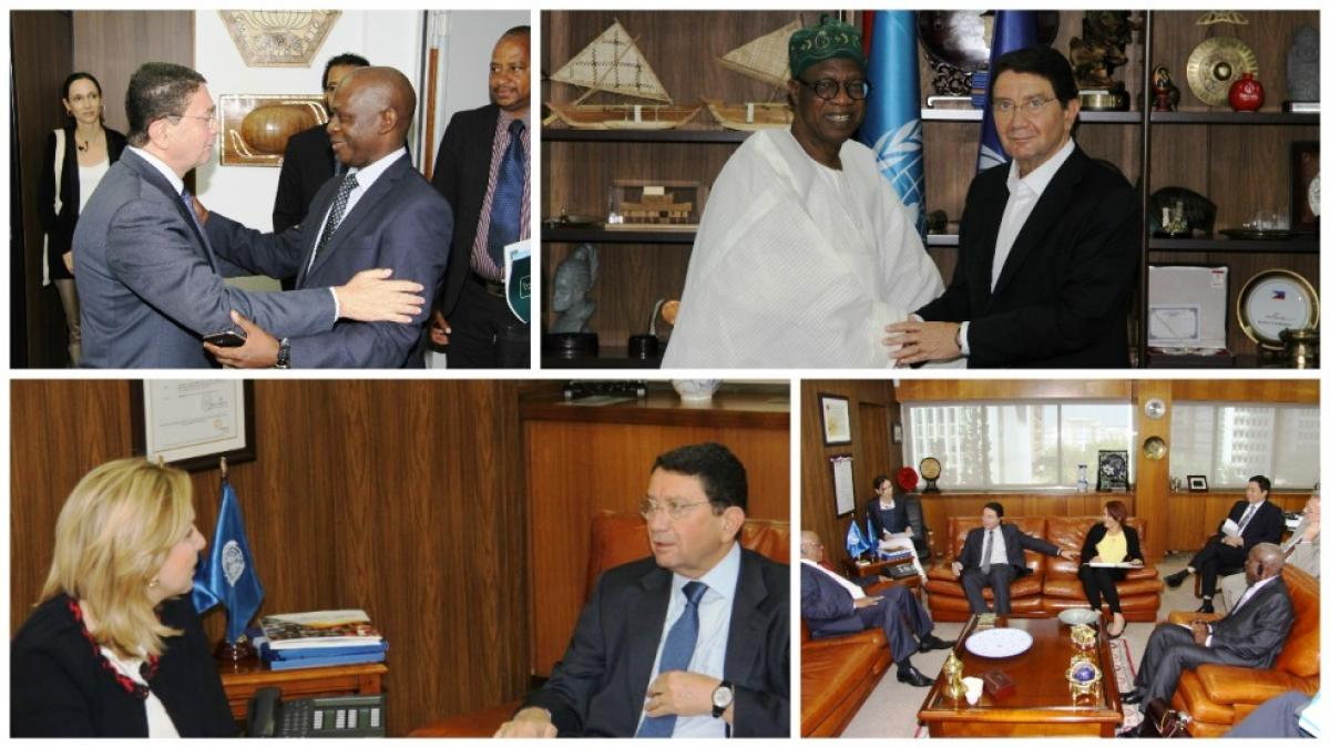 Official visits of African Tourism Ministers at the World Tourism Organization Headquarters
