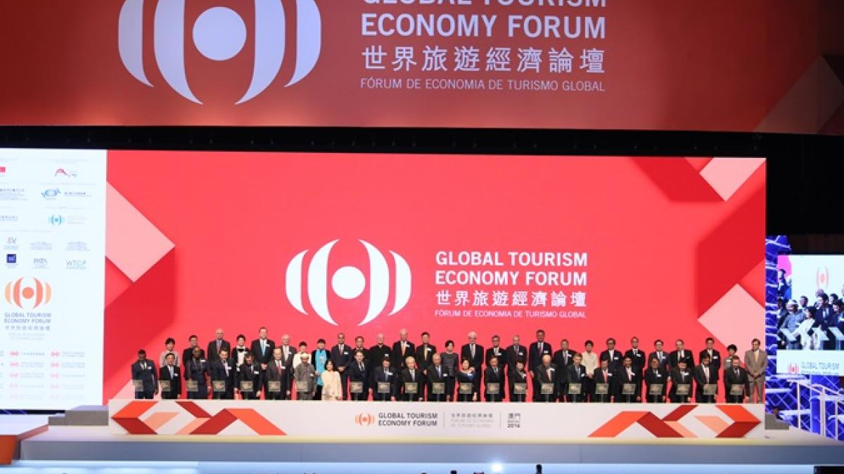 5th Global Tourism Economy Forum and the UNWTO/GTERC Asia Tourism Trends 2016 Edition