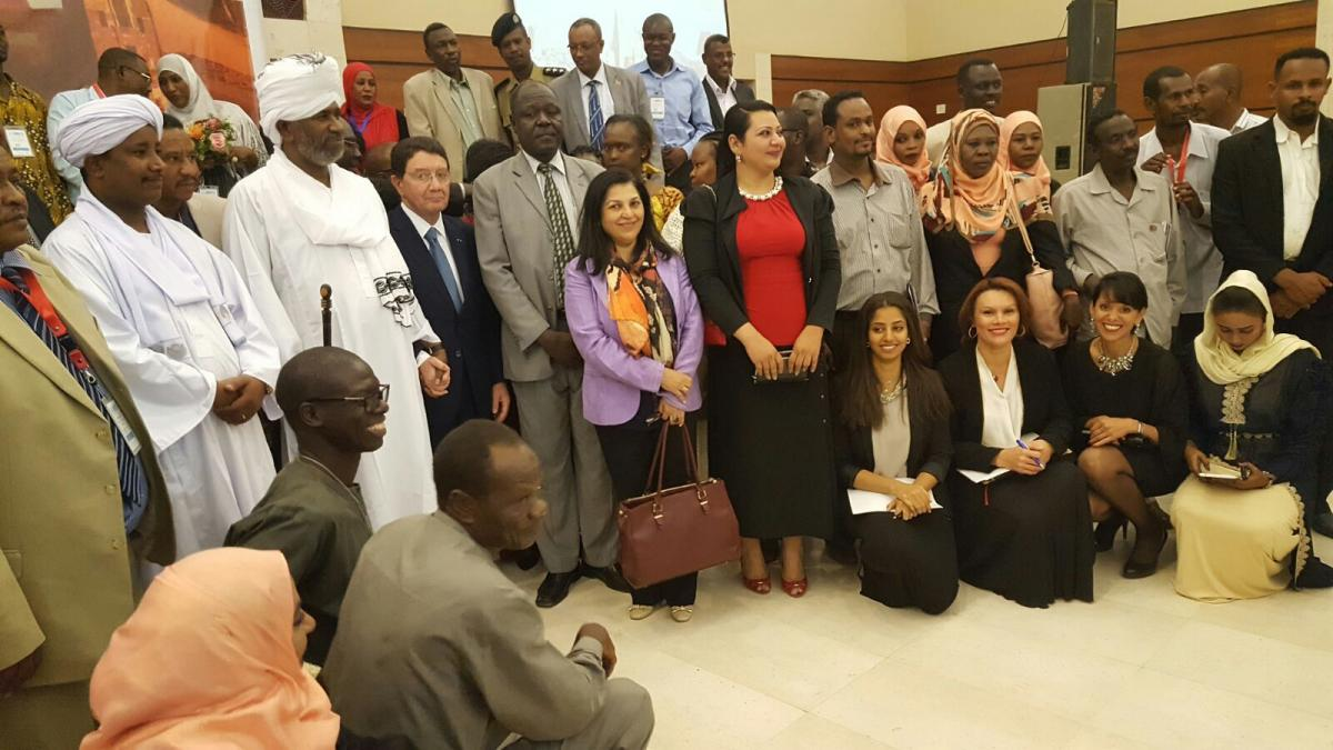 Inaugurated the UNWTO Regional Executive Training Course  in the Republic of the Sudan on Crisis Communications in Tourism