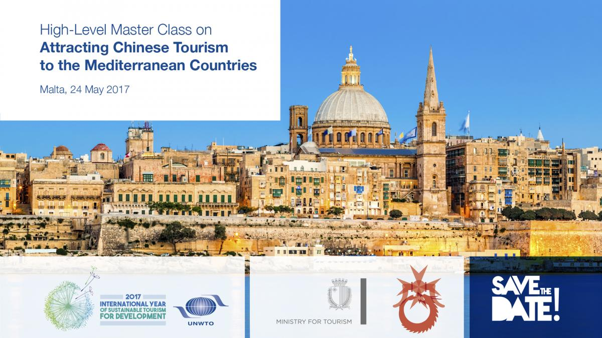"""UNWTO Master Class on """"Attracting Chinese Tourism to the Mediterranean Countries"""""""