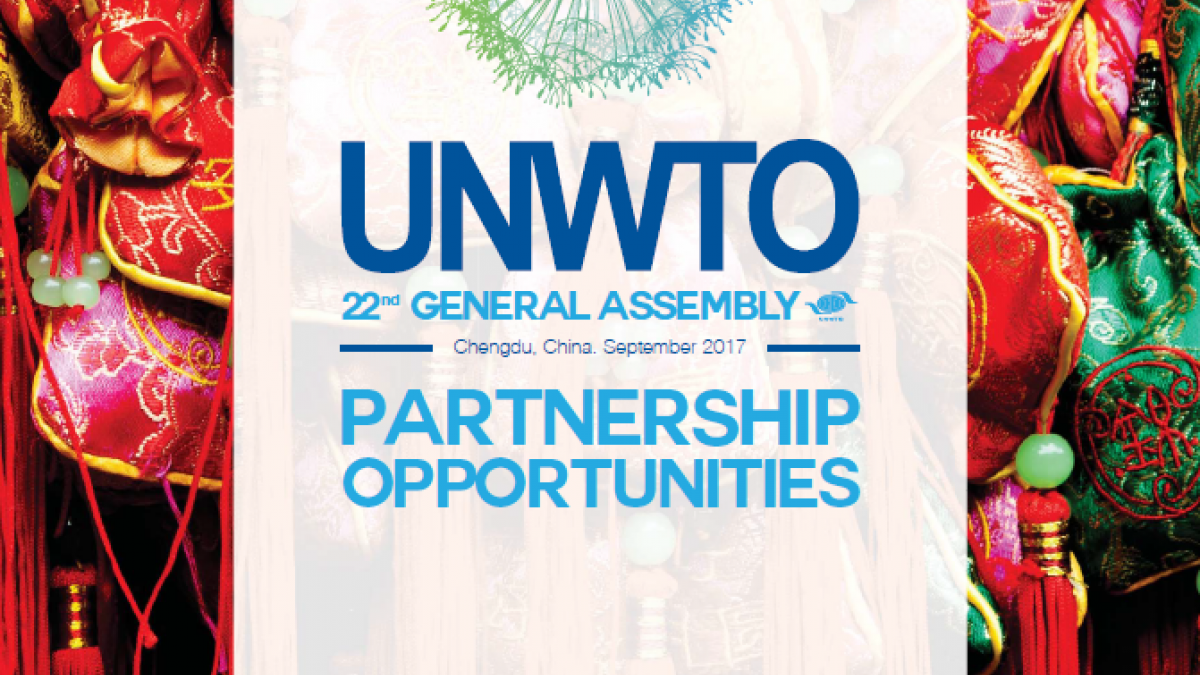 Partnership Opportunities of the 22nd Session of the UNWTO General Assembly