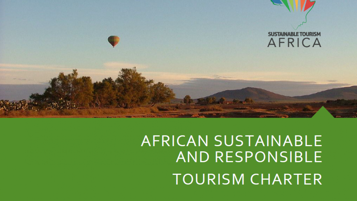 AFRICAN SUSTAINABLE AND RESPONSIBLE TOURISM CHARTER