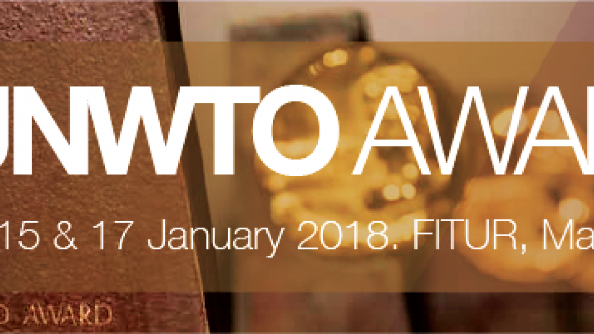 2018 UNWTO Ethics Award - CALL FOR APPLICATIONS