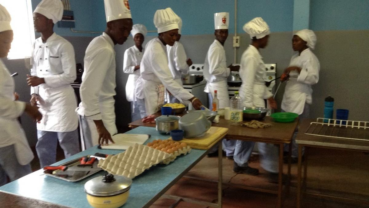 A Series of Hospitality Training Programme Completed for Youth and Women in Victoria Falls