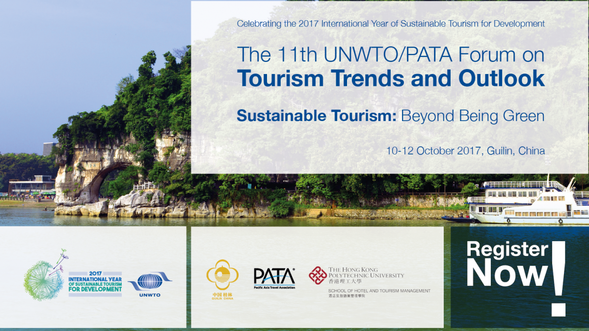 The 11th UNWTO/PATA Forum on TOURISM TRENDS AND OUTLOOK