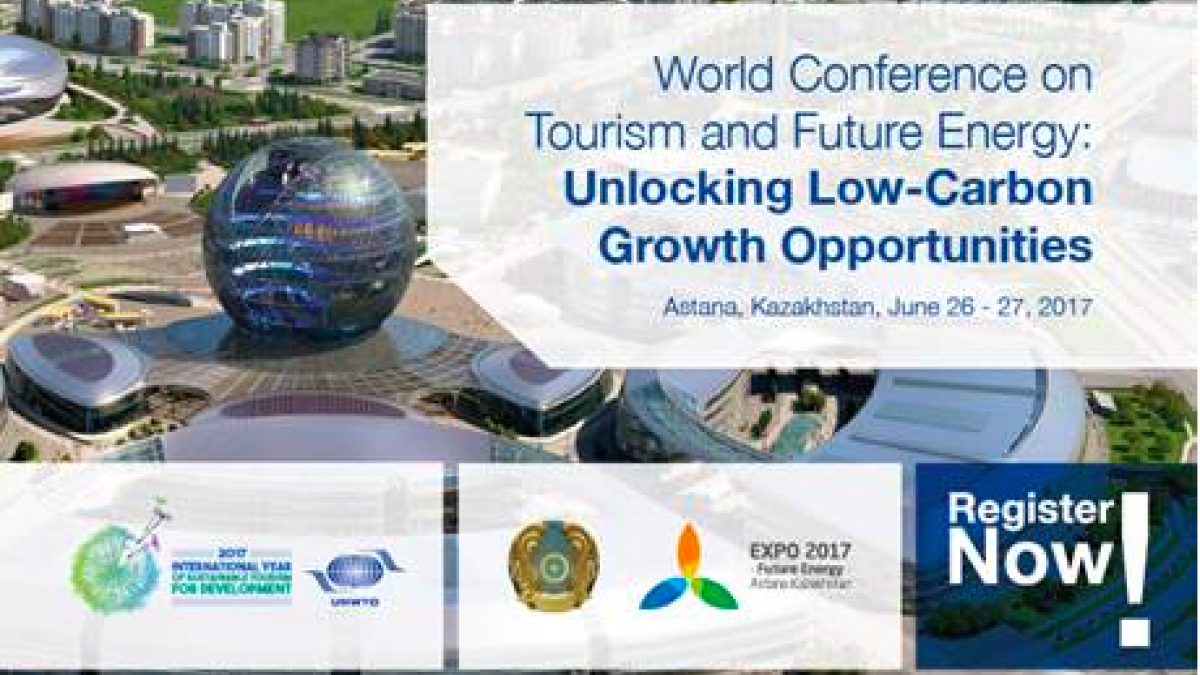 World Conference on Tourism and Future Energy: Unlocking Low-Carbon Growth Opportunities