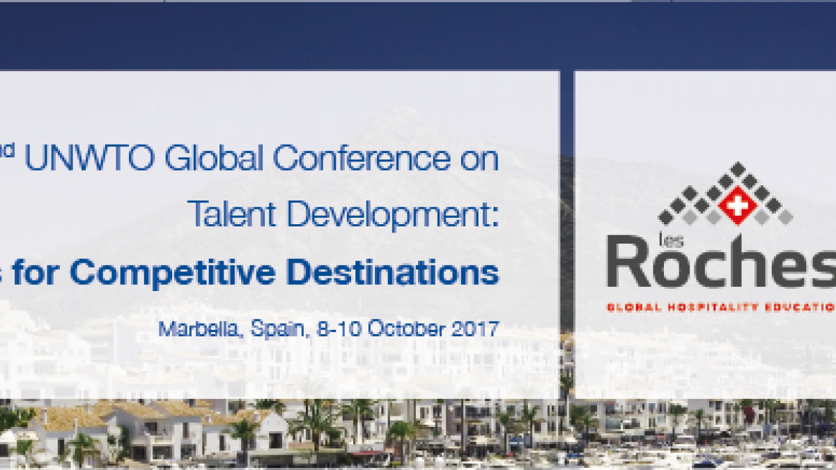 2nd UNWTO Global Conference on Talent Development in Tourism: Strategies for Competitive Destinations
