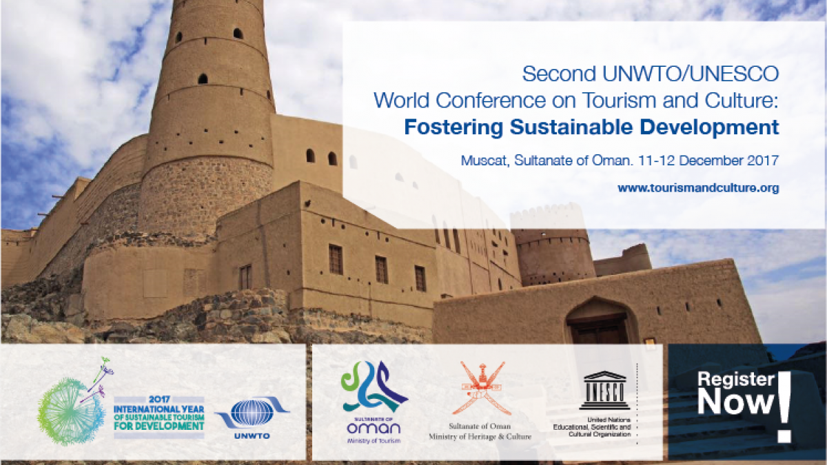 Second UNWTO/UNESCO World Conference on Tourism and Culture: Fostering Sustainable Development