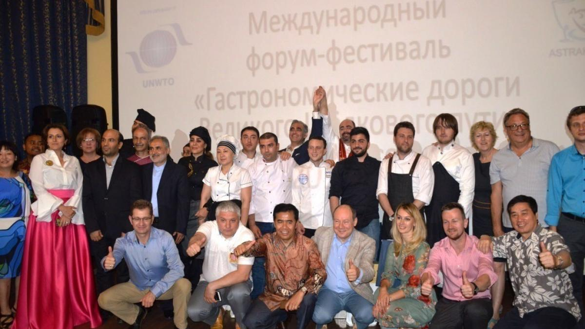 The First International Forum-Festival «Gastronomic routes of the Great Silk Road»