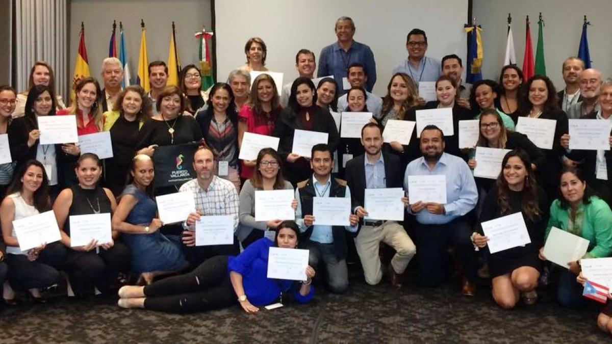 """Over 40 tourism officials and professionals participated in the UNWTO Course in Mexico on """"Sustainable Tourism Strategies for Local Development"""""""