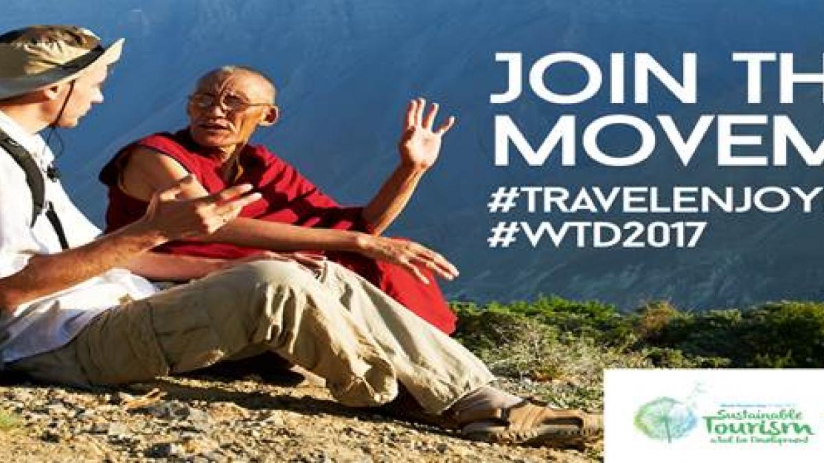 Pledge #TravelEnjoyRespect for World Tourism Day 2017
