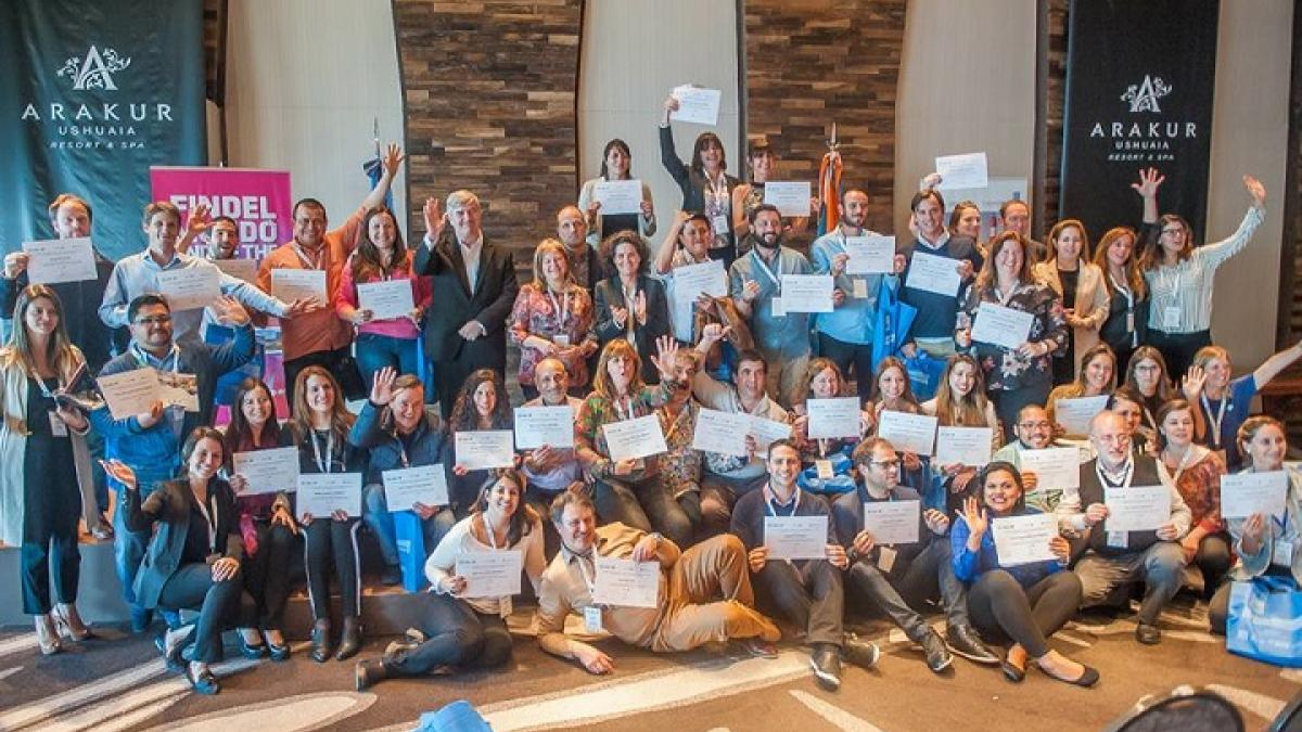 """Officials and professionals from the tourism sector participated in the UNWTO international course in Argentina on """"Gastronomy as a tourist attraction factor"""""""