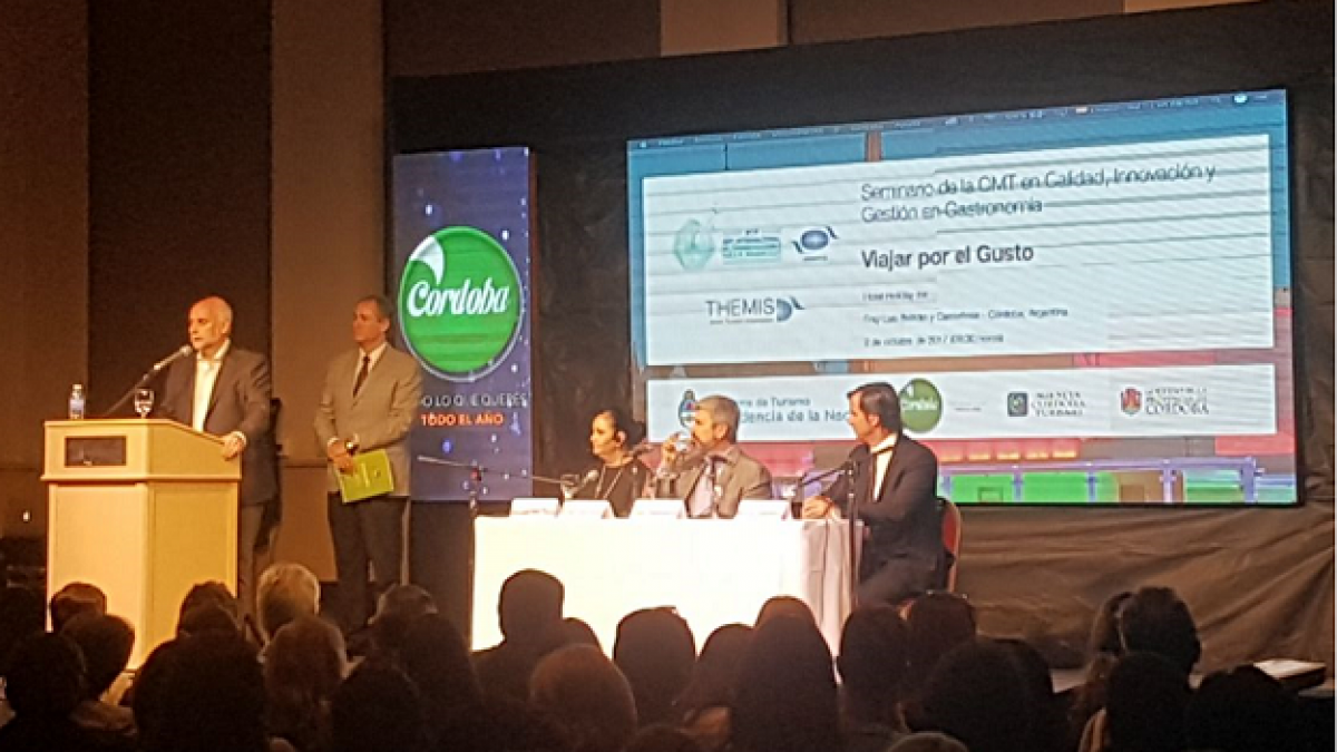 """The UNWTO Seminar """"Travelling: a question of taste"""" started this morning in Cordoba (Argentina)."""