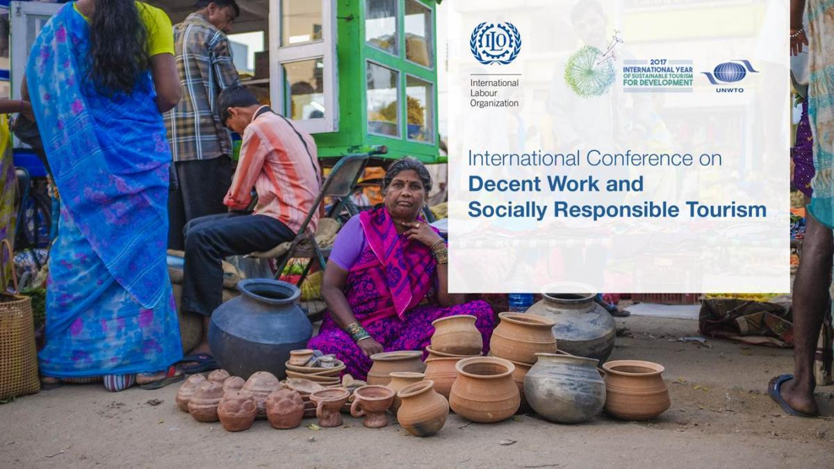 International Conference on decent work and socially responsible tourism