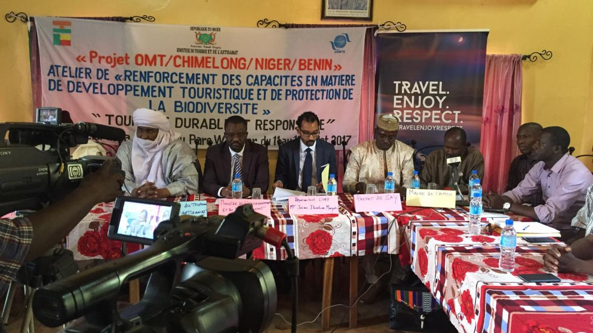 UNWTO implements the first two of a series of training seminars on tourism and biodiversity in West and Central Africa (June and July 2017)