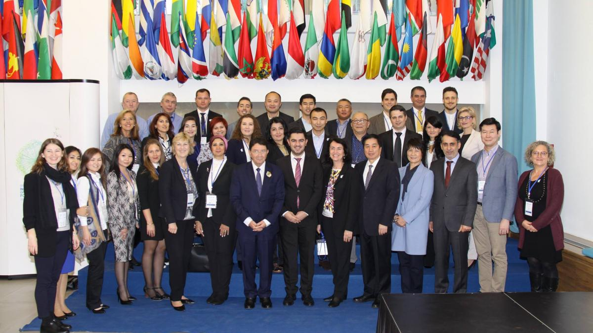 The onsite course of the UNWTO Silk Road Training and Capacity Building Programme gathers representatives from 12 Silk Road countries in Madrid and Valencia, Spain