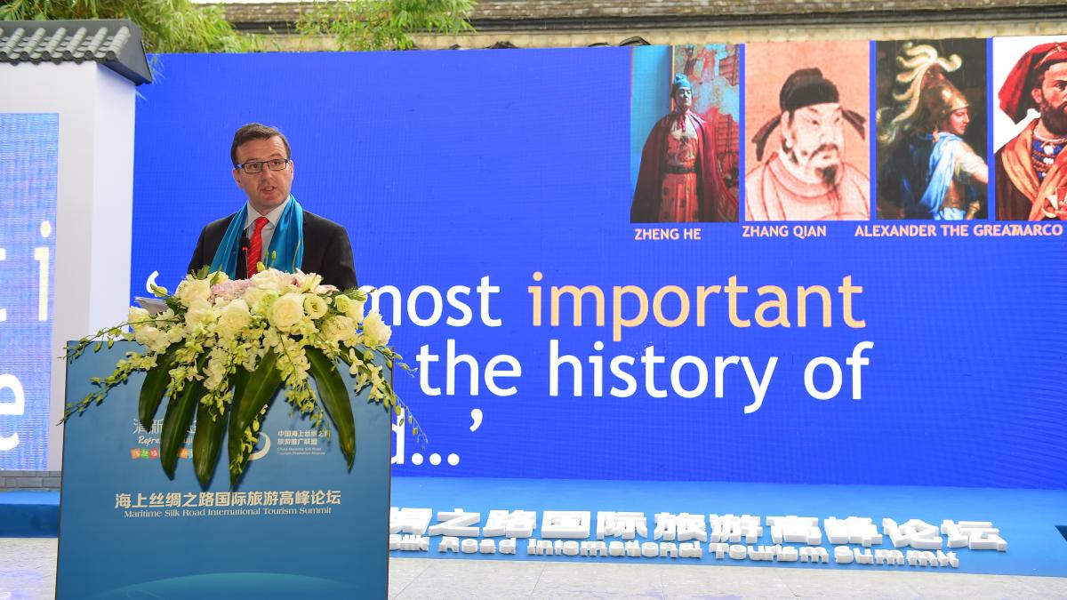 UNWTO Silk Road Programme represented at 3rd Maritime Silk Road (Fuzhou) International Tourism Festival, China