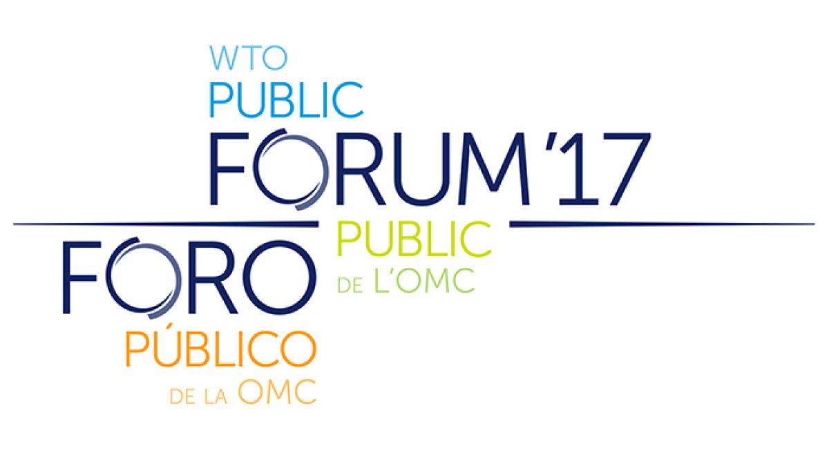 WTO Public Forum 2017