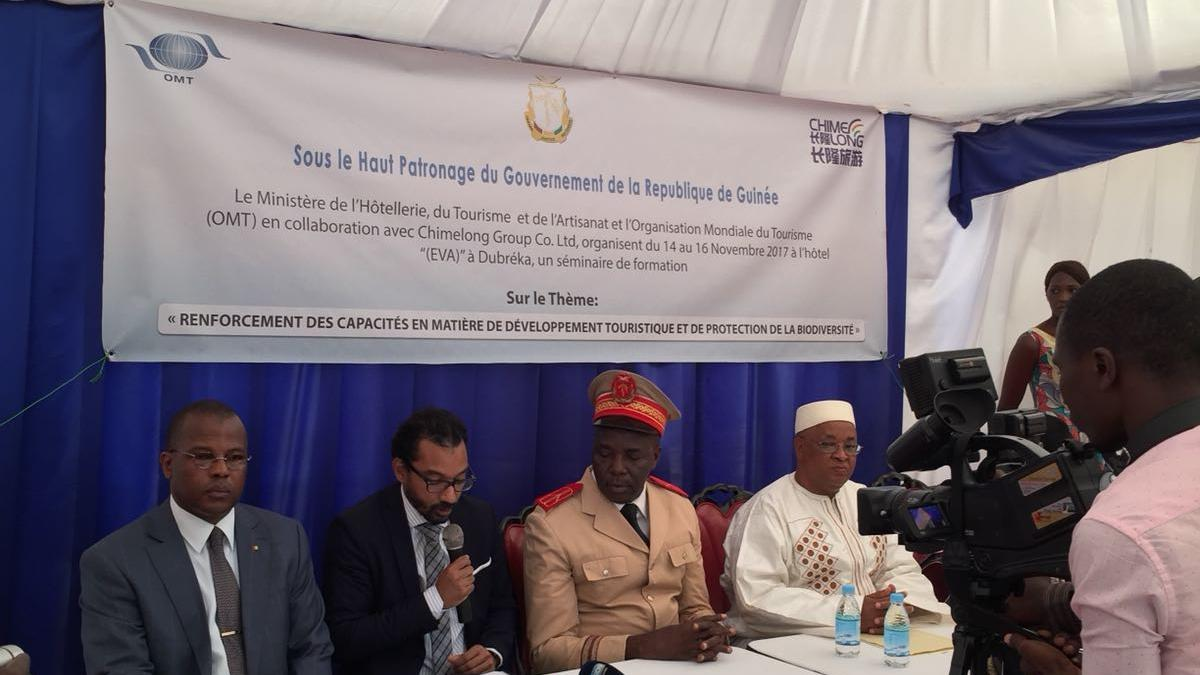 UNWTO implements the last two seminars of its series of training on tourism and biodiversity in West and Central Africa