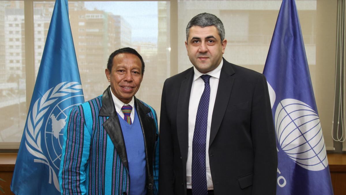 UNWTO strengthens relations with Timor-Leste