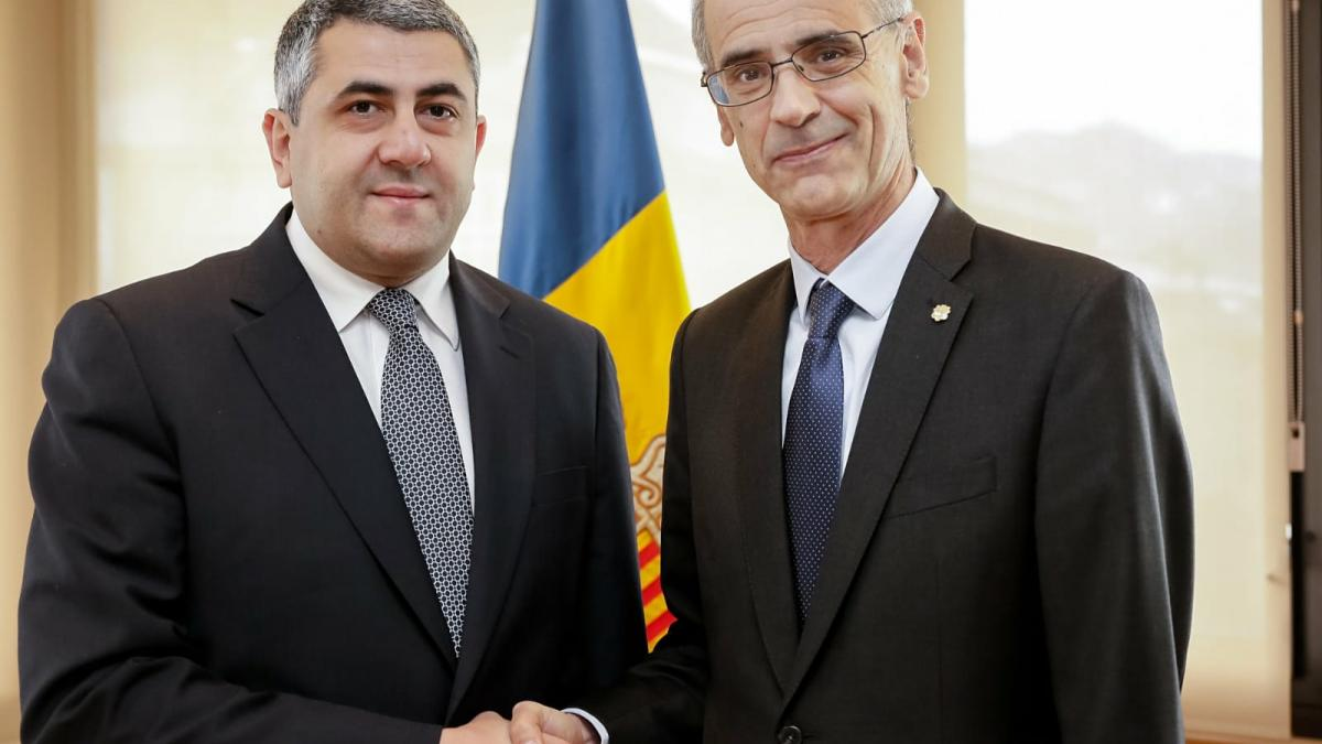 UNWTO Secretary-General meets Head of Government of Andorra ahead of 10th Congress on Snow and Mountain