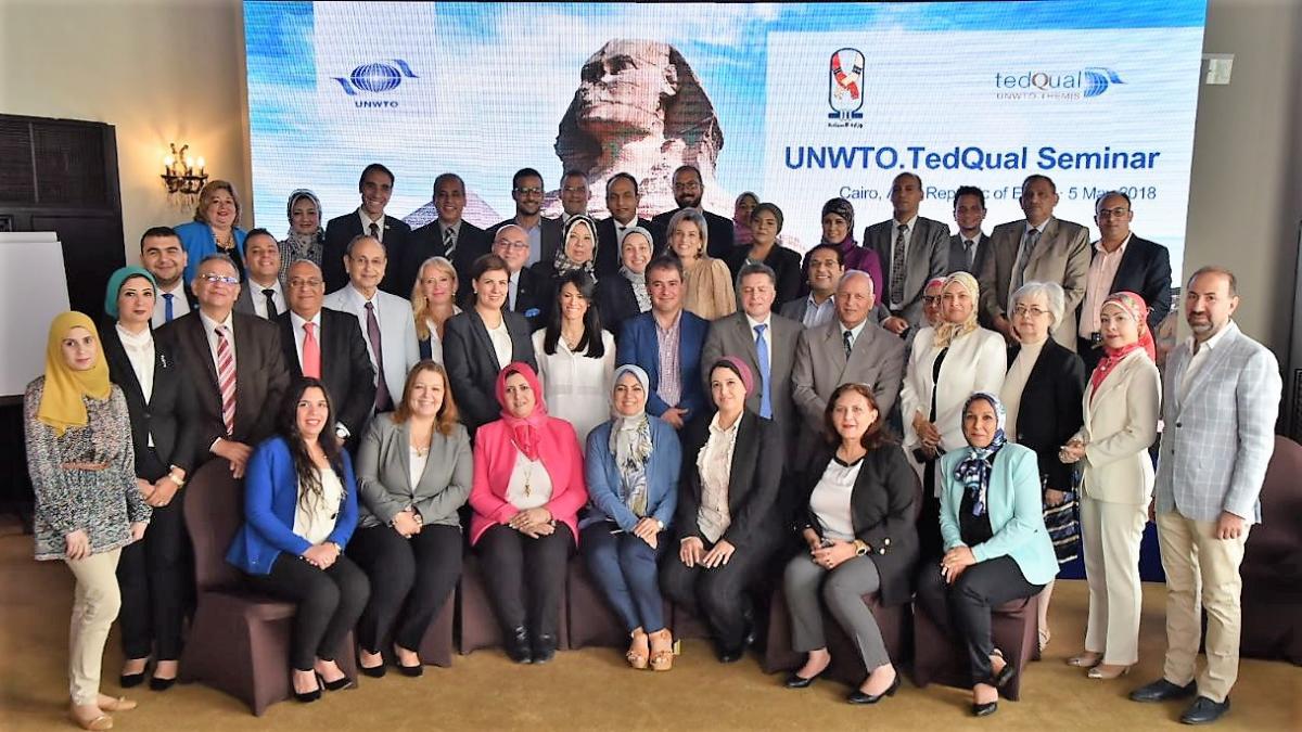 Inaugurated the UNWTO.TedQual Seminar in Egypt