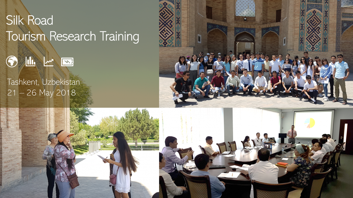 The Silk Road Tourism Research Training supports the development of tourism intelligence in Uzbekistan