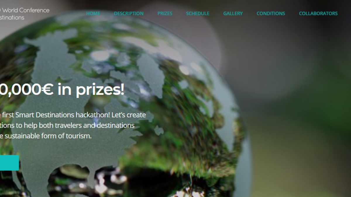 Sign up now: 1st Hackathon for Smart Destinations (23-24 June 2018)