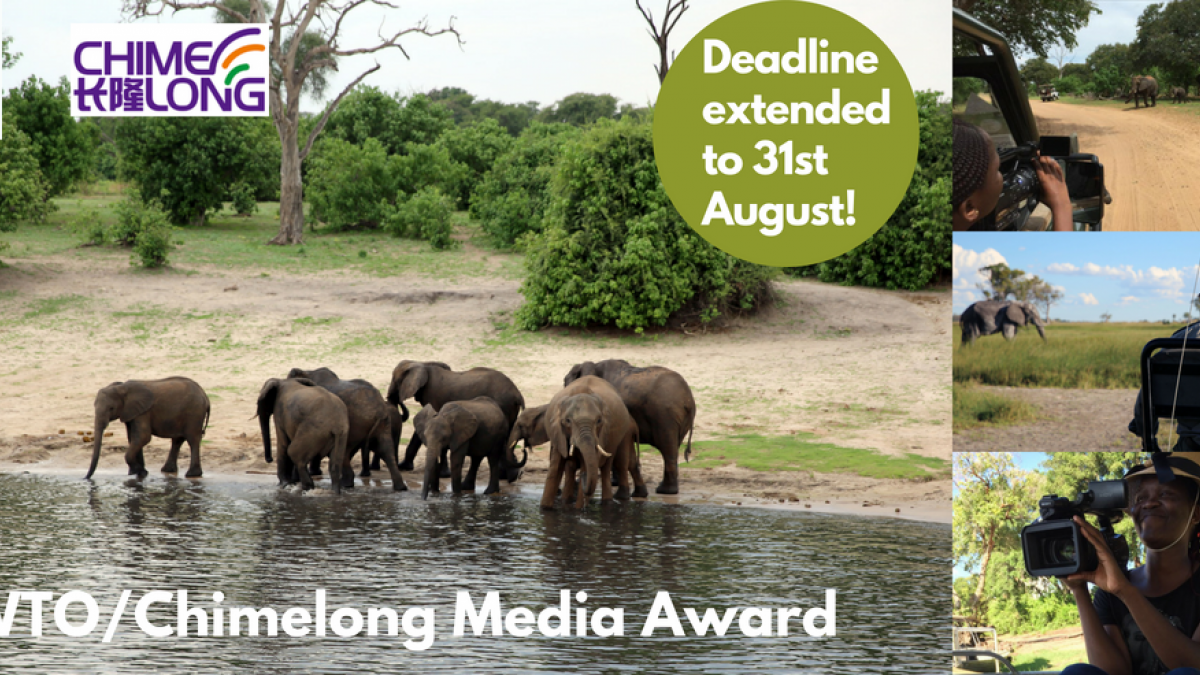 DEADLINE EXTENDED UNWTO/Chimelong Media Award on  Wildlife and Sustainable Tourism