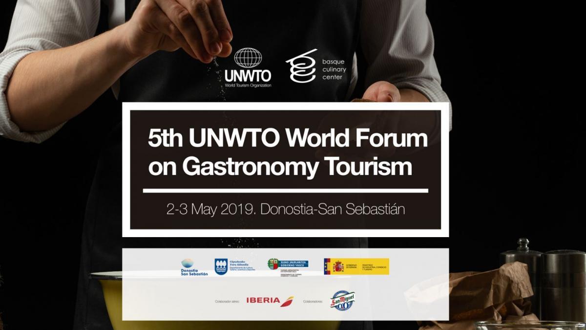 5º Foro Mundial de Turismo Gastronómico de la OMT