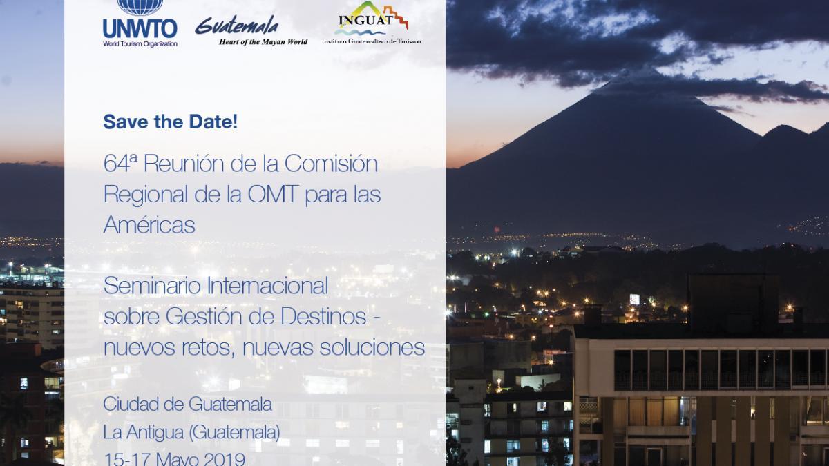 Seminario Internacional sobre Gestión de Destinos - nuevos retos, nuevas soluciones