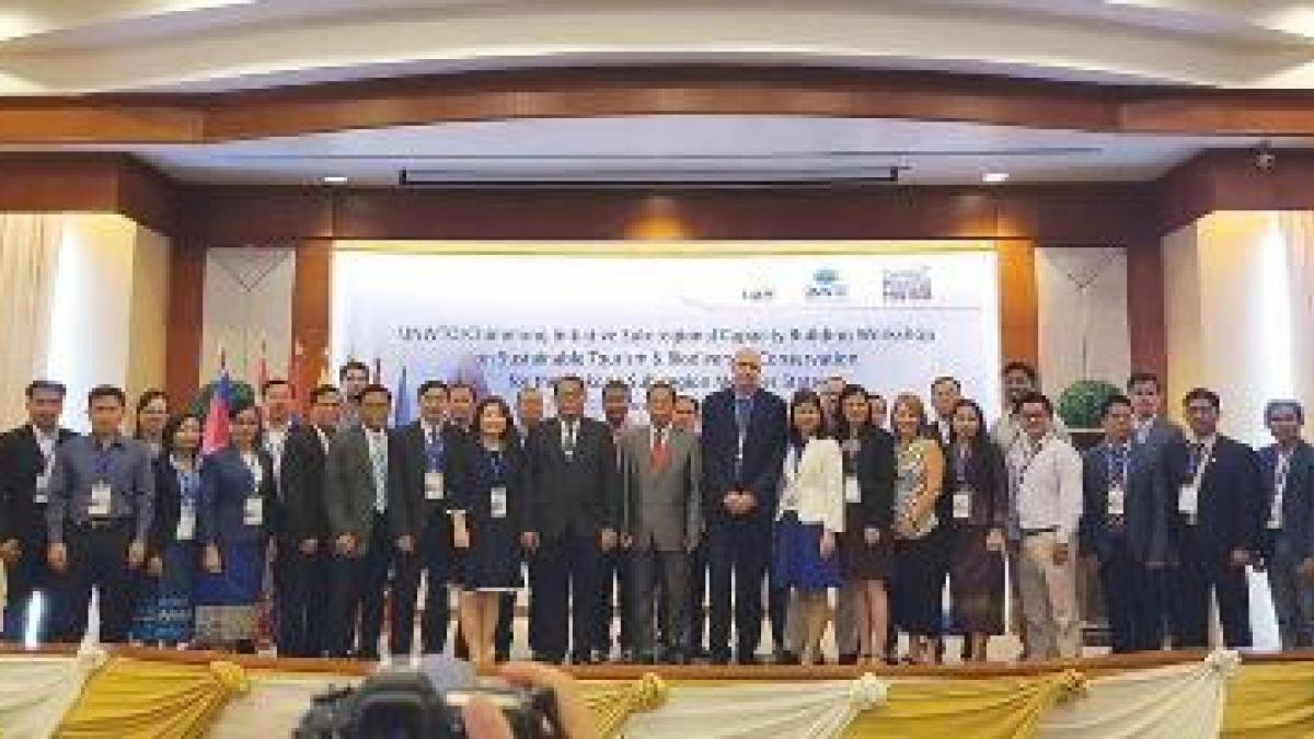 UNWTO/Chimelong Sub-regional Capacity Building Workshop on Sustainable Tourism and Biodiversity Conservation for the Mekong Subregion Member States